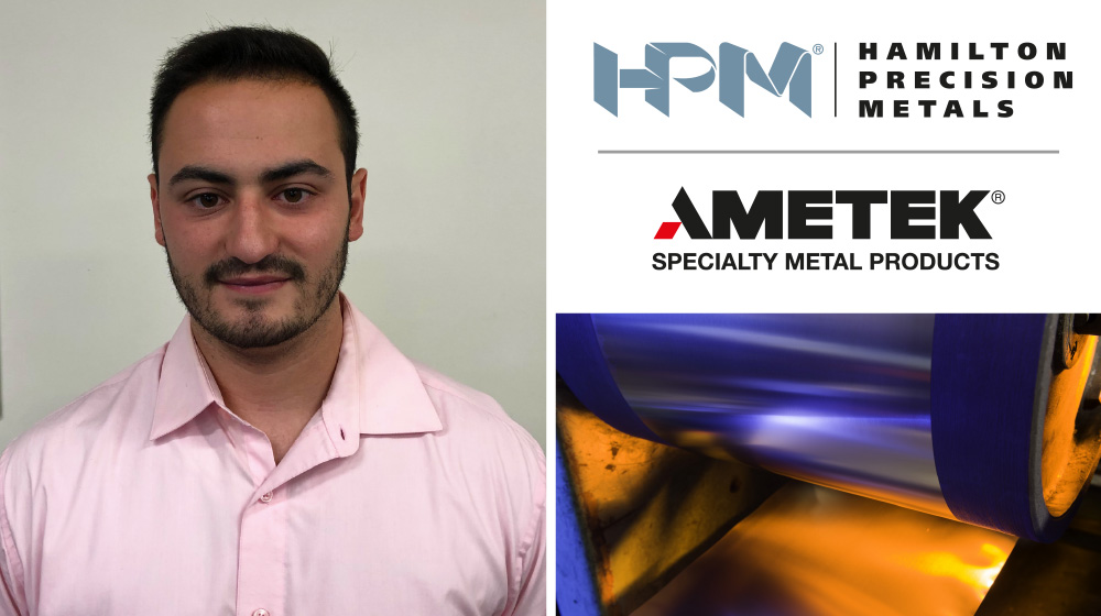 Hamilton Precision Metals appoints Andrew Wilkinson as new Manufacturing Engineer